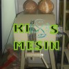Mesin Pengupas / Pencukil Batok Kelapa 1 Mata Pisau
