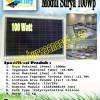 Modul Surya 100Wp