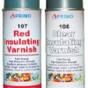 Red Insulating Varnish Clear Insulating Varnish