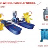 Paddle Wheel Aerator/ Kincir Air