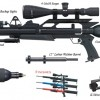 Jual Second AirForce Ultimate Condor PCP Air Rifle
