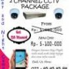 2 Channel CCTV Analog Camera For Baby
