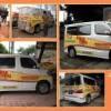 Vehicle Wraps / Sticker untuk Daihatsu Luxio
