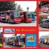 Bus Wrap / Sticker untuk Bus PO Mujijaya