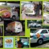 Vehicle Wraps / Sticker untuk Suzuki Carry, Toyota Vios
