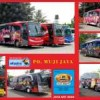 Bus Wrap / Sticker untuk Bus PO Muji Jaya