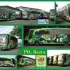Bus Wrap / Sticker untuk Bus PO Restu