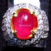 CINCIN BATU PERMATA RED RUBY ( Code : RB0052 )