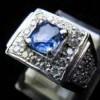 BATU PERMATA SPARKLING BLUE SAFIR ( Code : SPR0047 )