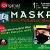 Masker hitam Anti Polusi ( Masker Carbon Actif ) MASKR