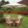 set meja kursi payung taman