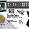 LED Flood Solar Panel System / Lampu Sorot Hemat Energi