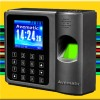 Mini size Fingerprint + Touch Screen + Baca Kartu