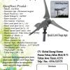 Kincir Angin 700Watt (Horizontal)