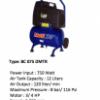 COMPRESSOR MULTIPRO 3/ 4 HP W/ TROLLEY 12 L TANK