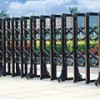Electronic Folding Gate - Retractable Gate