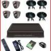 PAKET CCTV KAMERA INFRA RED 4 Titik