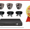 Paket CCTV 4 Kamera SUPER HEMAT cocok utk TOKO/ RUMAH / Apartemen