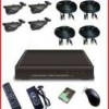 PAKET CCTV 4 Kamera Outdoor Infra Red