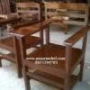 Meja Kursi Kuliah, cocok untuk Perguruan Tinggi, Sekolah, Lembaga Pendidikan dan lain-lain.