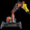 DEMOLITION BREAKER - REMOTE CONTROL - made by HUSQVARNA