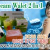 cream walet 2 in 1 singapore pemutih wajah non mercury @085287957888