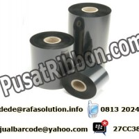 Jual Ribbon Barcode Wax Resin