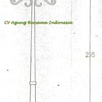Tiang Lampu Antik By PT.Agung Bersama Indonesia