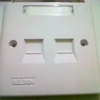 Faceplate Belden