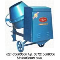 Mesin Molen 350 Liter, Molen 125 Liter, Molen Beton 500 Liter