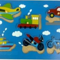 Puzzle Transportasi