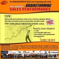 Jasa Pelatihan Sales Sukses: Outstanding Sales Performance