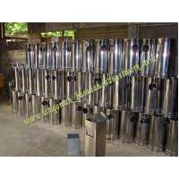 Stock Tempat sampah stainless