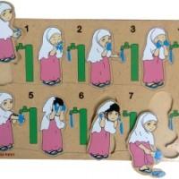 Puzzle Wudhu Wanita / Pria