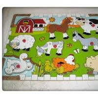Puzzle Hewan Knop