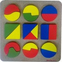 Puzzle Geometri