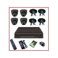 PAKET CCTV ONLINE 4 KAMERA INFRA RED