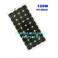 Solar Panel 120 WP MonoCrystalline