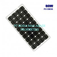 Solar Panel 80 WP MonoCrystalline