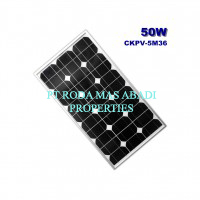 Solar Panel 50 WP MonoCrystalline