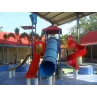 waterplay slide prosotan kolam anak