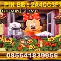 kerajinan kuningan mickey mouse 02 (hiasan dinding)