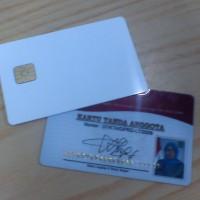 Kartu ID karyawan plastik dan smart card