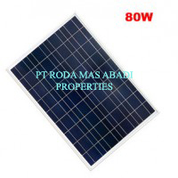 Solar Panel 80 WP PolyCrystalline