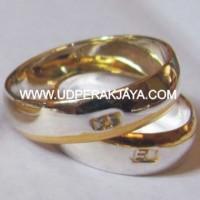 cincin kawin perak lapis emas spesial les.05