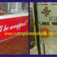 Kaca Film Gedung | Sticker Sandblast | Cutting Sticker