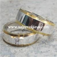 cincin kawin perak lapis emas spesial les.15
