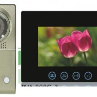 "Video Door Phone Big Screen 10"" High Resolusi CCD Sony"