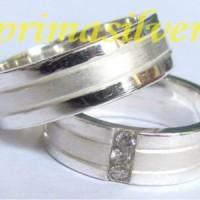 Cincin Perak Couple Spesial Simbol Cinta Kekal WIN.06