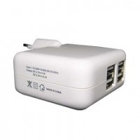 Mediatech 4 Ports USB Charger
